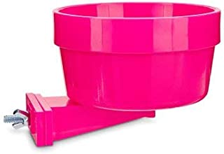 Lixit Quick Lock Cage Bowls for Small Animals. (20oz, Pink)