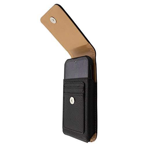 caseroxx Handy Tasche Outdoor Tasche für Gigaset GX290 / GX290 Plus, mit drehbarem Gürtelclip in schwarz