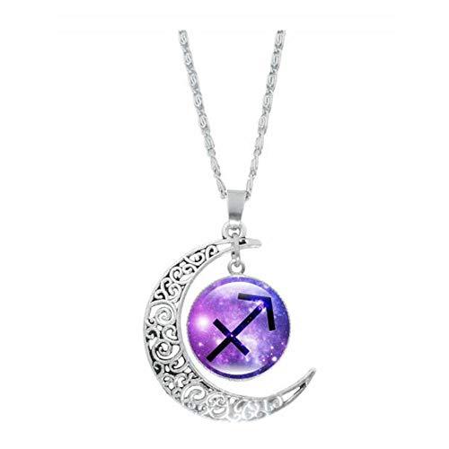 Sternzeichen Anhänger Halskette Horoskop Halskette