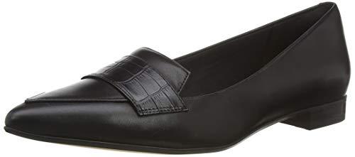 Clarks Damen Laina15 Loafer Slipper, Schwarz (Black Combi Black Combi), 39 EU