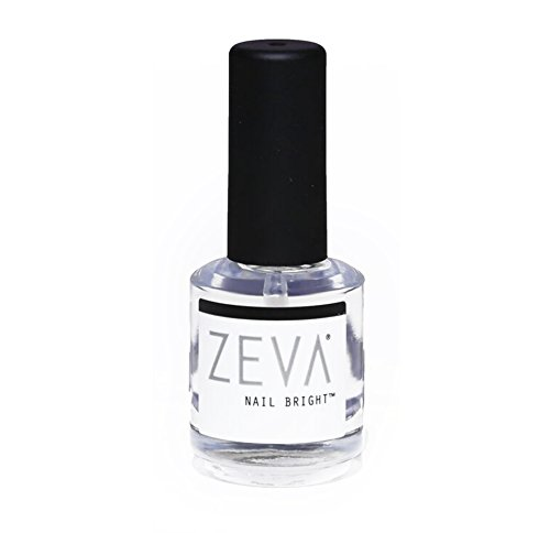 ZEVA Nail Bright – One-Step Salon Grade French Manicure Fingernail & Toenail Polisher & Whitener – Quick Dry White &...