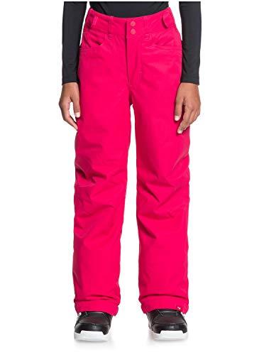 Roxy Backyard-Pantalón para Nieve para Niñas 8-16, Jazzy, 12/L
