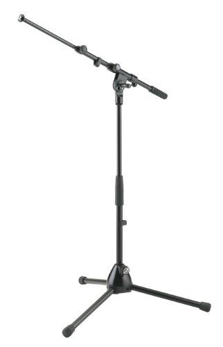 Konig and Meyer Niedriges Mikrofonstativ Mikrofonständer, spezielles Soft-Touch-Finish