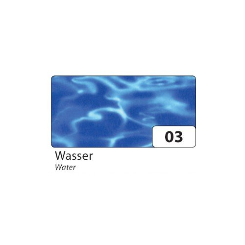 Folia Transparentpapier 115 g/m², 23x33cm, 5 Blatt, Wasser