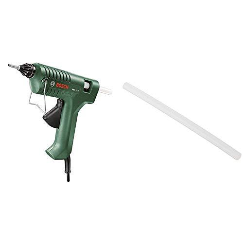 Bosch PKP 18E - Pistola de pegar + 2 609 256 A03 - Juego de 10 barras de pegamento Ultra Power