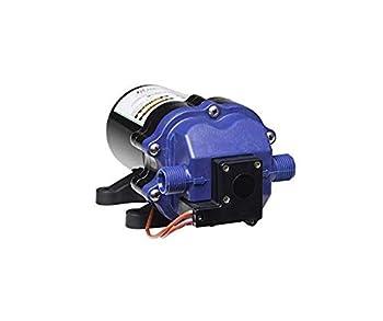 soundless recreational vehicle pump