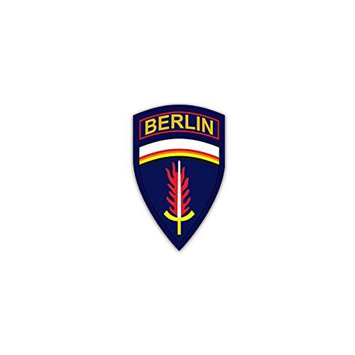 Aufkleber/Sticker -US-Berlin-Brigade Berlin Infantry Brigade US Army Europe Soldaten Infanterieregiment Militär Wappen Abzeichen Emblem 4x7cm #A2334