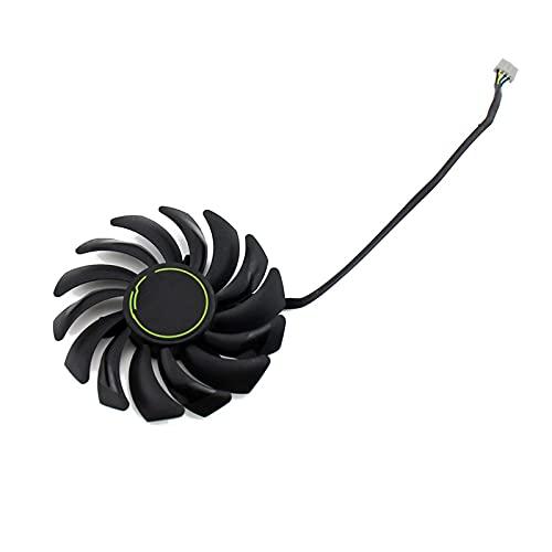 87mm PLD09210S12HH DC12V 4PIN RTX2070 Fan de gráficos para MSI para GeForce RTX 2060 2070 2080 Super Ventus XS OC Tarjeta de gráficos (Blade Color : 1PCS)