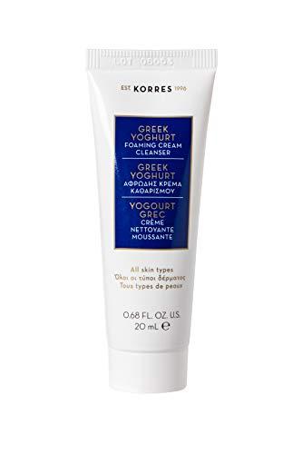 Korres Greek Yoghurt - Crema de lavado emulsionante, tamaño de viaje