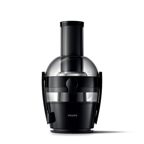 Philips HR1855/06 Entsafter, 650 W, Schwarz, QuickClean Technologie