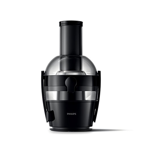 Philips Viva Collection HR1855/06 - Exprimidor (Licuadora centrífuga, Negro, 1,2 L, 0,8 L, 2 L, 7,5 cm)