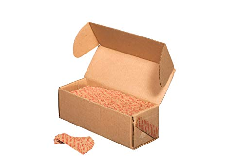 N. F. STRING & SON, INC. Flat Tubular RED Penny Wrappers, 1000 CT Box