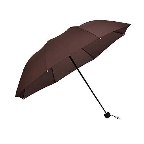Los Hombres y Las Mujeres del Paraguas automático del Negocio Aumentan el Paraguas Doble de Doble Uso del Refuerzo