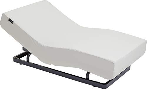 パラマウントベッド 電動リクライニングベッドセット ミルキーホワイト 幅98x奥199x高35cm(シングルサイズ) アクティブスリープ 【8梱包】 Active Sleep Set S Milky White