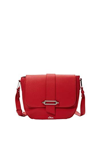 s.Oliver Damen 39.001.94.2950 Tasche Umhängetasche Rot (Red)