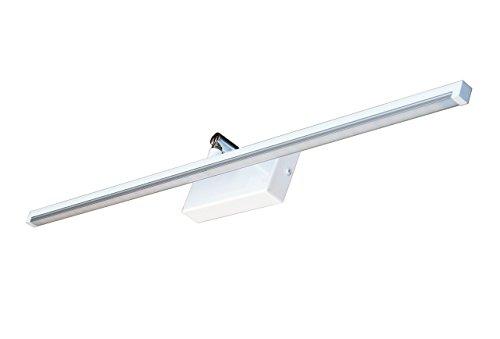Bilderleuchte Spiegelleuchte Wandlampe 230V warmweiß Badleuchte Aufbauleuchte Schminklicht LED Lampe MOD-B (Weiß, 50 cm)