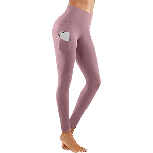 Ulanda-EU Leggings Damen, Schnelltrocknend Tight,Yoga Pants,Damen High Waist Gym Sport Leggings,Tummy Control Running Workout Trumpfhose, Stretch Trainingshose Sporthose Sportleggins