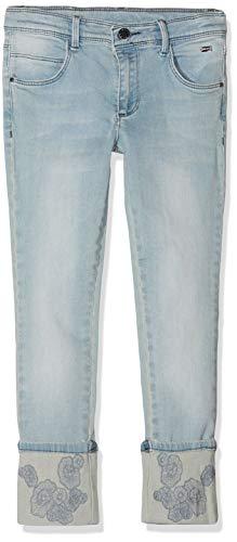 Mexx Mädchen Jeans, Blau (Denim Light Wash 300024), (Herstellergröße: 140)
