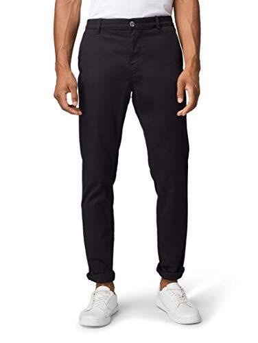 Tom Tailor Slim Chino Pantaloni, 29999/Nero, XL Uomo