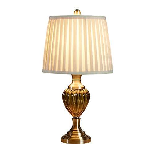 Lámpara de mesa Led Moderno minimalista americano Lámpara de mesa Dormitorio Lámpara de cabecera Salón Creativo Retro Lámpara de mesa Hay tres modos de interruptor disponibles Lámpara de noche Luz de