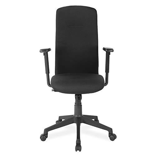 Nilkamal Gary High Back Chair, Black
