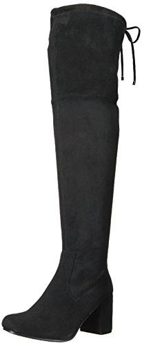 Very Volatile Women's Heartbeat Riding Boot, Black, 6.5 B US
