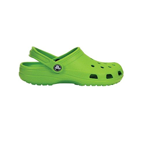 crocs Classic Cayman Clogs und Pantoletten - Farbe: Volt Green -Größe: 45-46