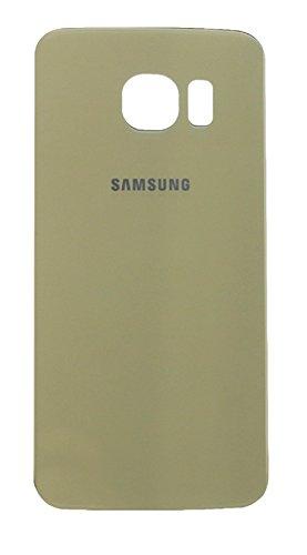 Ilovemyphone Tapa Bateria para Samsung Galaxy S6 G920F Color Oro Bateria Back Cover Trasera