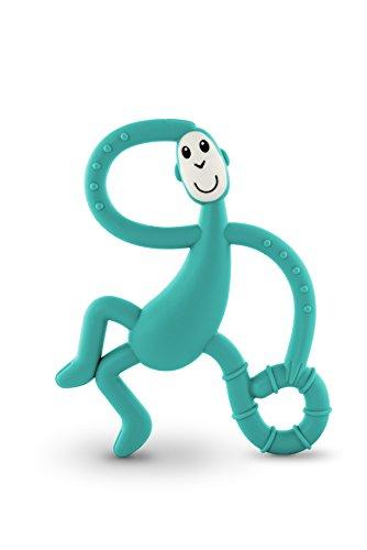 Streichholz Monkey tanzender Affe Zahnen Spielzeug, Grün
