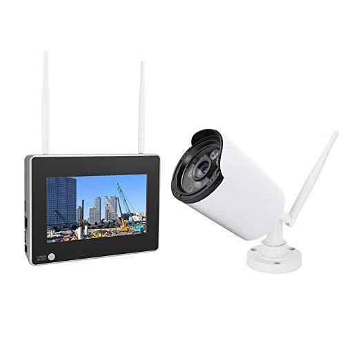Videocamera di sorveglianza CSY6 12-1V1 7 pollici, senza fili WiFi NVR palla telecamera impermeabile visione notturna monitor di sicurezza a casa 1.3 MP ad alta definizione sicurezza