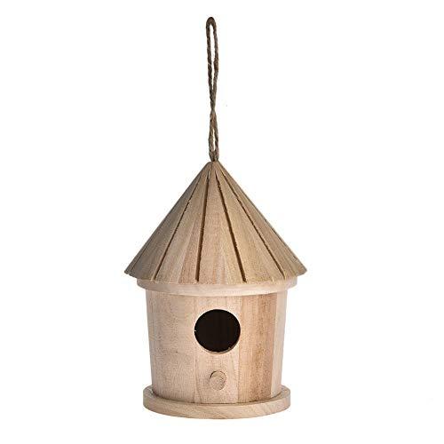 Ntribut Caja De Nidificación De Aves Aves Jaulas Jardín Nido De Pájaros...