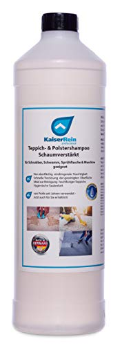 KaiserRein 1 L Teppichreiniger I Polsterreiniger für Auto, Teppich und Polster I Textilreiniger Konzentrat Teppiche Autositze I Waschsauger geeignet ohne Separate Sprühflasche