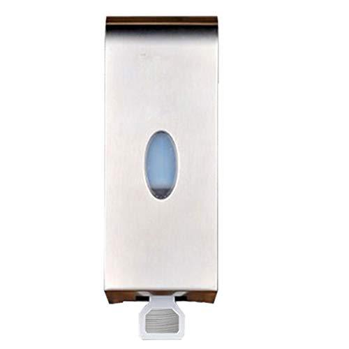 Dispensador de Jabón Líquido para Pared Montado en la pared del hogar dispensador de jabón champú dispensador de aleación de zinc metal del acero inoxidable dispensador de jabón 1000 ml de gran capaci