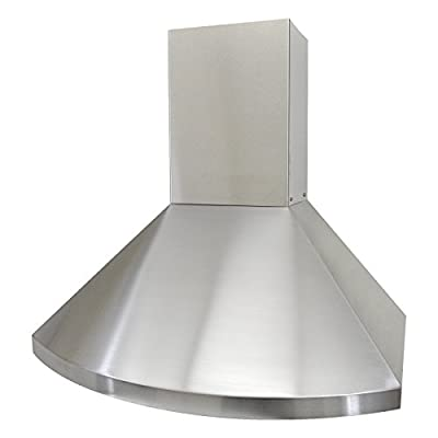 KOBE Range Hoods Wall Mount Range 750 CFM Stainless Steel with LED Lights