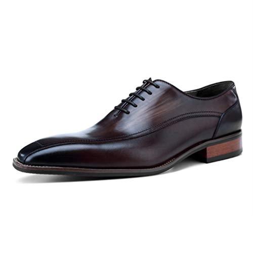 YU-S Zapatos de cuero del negocio de los hombres Ate para arriba...