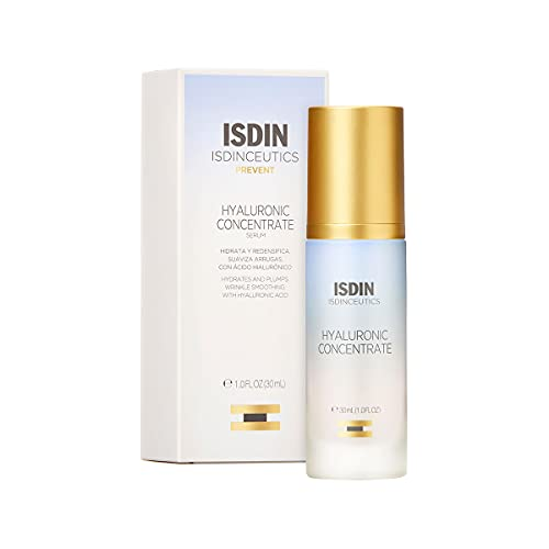 ISDIN Isdinceutics Hyaluronic Concentrate; Siero Viso Leggero E Ultraidratante; Con Acido Ialuronico - 30Ml - 30 g