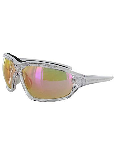 Adidas Brille a194 Evil Eye EVO Pro S crystal shiny 6070 LST Bright VARIO