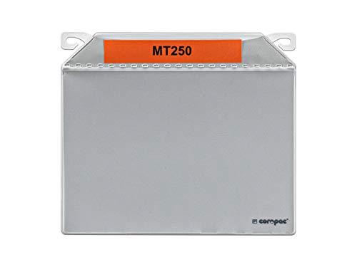 Pochettes magnétiques avec crochet intégré (100, 220 x 195 mm (A5 horizontal))