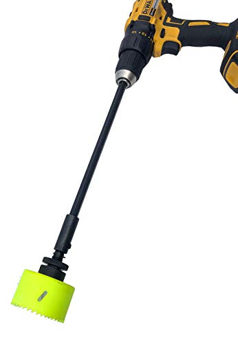 Keyfit Tools Power Sprinkler Head Trimmer 2 3/4 Inch Diameter Trim Your Rotors & Spray Heads in Seconds! for Overgrown Sprinklers & Clean Appearance Adjustment Replacement & Raising Drill Attachment