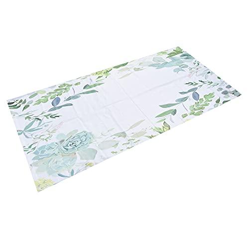 FECAMOS Cortina de baño, Cortina de Ducha Impermeable con 12 Ganchos de plástico para moteles para familias para Acampar