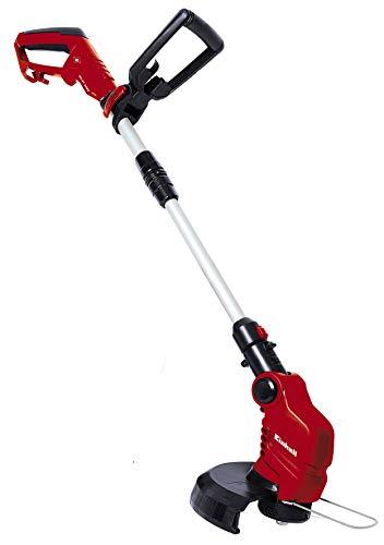 Einhell Elektro-Rasentrimmer GC-ET 4025 (400W, 11.000 1/min Umdrehungen, 250mm Schnittkreis, Flowerguard, verstellbarer Motorkopf, Tipp-Automatik)