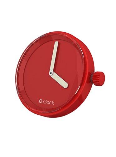 O Clock Unisex-Uhrengehäuse rot OCF17