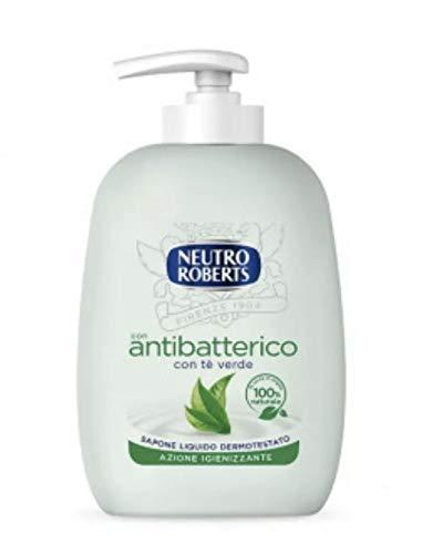 12 x NEUTRO ROBERTS Sapone Liquido Antibatterico 300 Ml