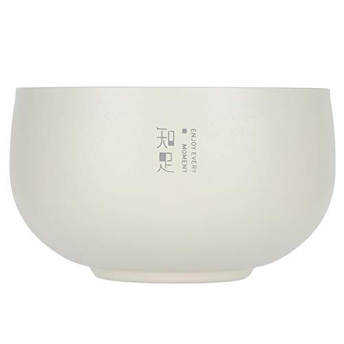 Asixxsix Cuenco de Doble Capa Cuenco Duradero Cuencos de arroz con(316 Jane Eyre Double Bowl: White Contentment)