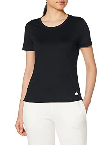 adidas Damen Prime Tee T-Shirt, Black, 2XL