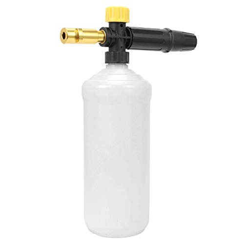 STYDDI Snow Foam Lance for Karcher Pressure Washer, 1 L Capacity Adjustable Foam Cannon Nozzle Lance Compatible with Karcher K2, K3, K4, K5, K6, K7 Series Domestic Pressure Washer