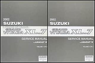 Best 2002 suzuki grand vitara repair manual Reviews
