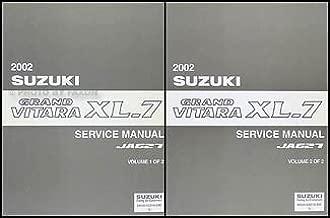 2002 Suzuki Grand Vitara XL-7 Repair Shop Manual Set Original