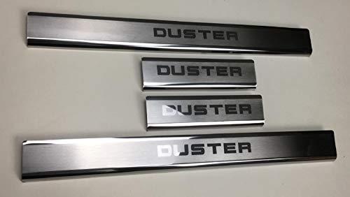 mne parts für Dacia Duster 2018 + Einstiegsleisten Schwellerleisten 4tlg Edelstahl