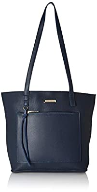 Flavia Women's Handbag (Blue)